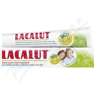 Zobrazit detail - Lacalut zubní pasta dětská 4-8let 50ml