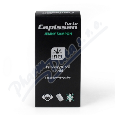 Zobrazit detail - Capissan FORTE jemný šampon při výskytu vší 200ml
