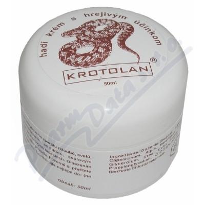 Zobrazit detail - Krotolan hadí krém s hřejivým účinkem 50ml