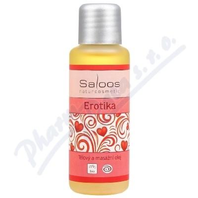 Zobrazit detail - SALOOS Tělový a masážní olej Erotika 50ml