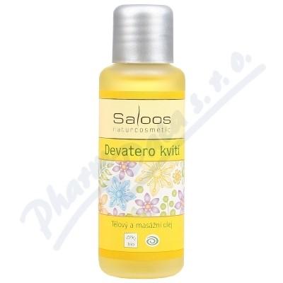 Zobrazit detail - SALOOS Tělový a masážní olej Devatero kvítí 50ml