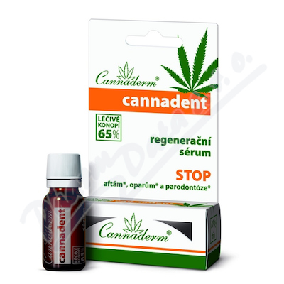 Zobrazit detail - Cannaderm Cannadent s�rum 5ml