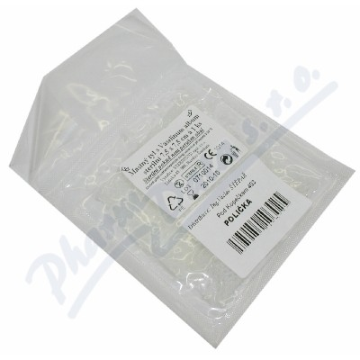 Tyl mastný s vaselinum album ster. 7.5cmx7.5cm/1ks