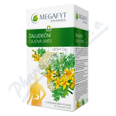 Zobrazit detail - Megafyt Žaludeční čajová směs por. spc. 20x1. 5g