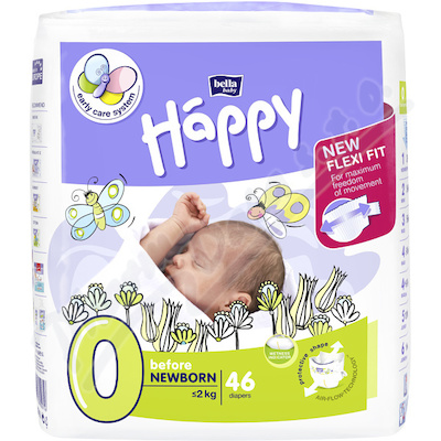Zobrazit detail - Happy Before New Born d�tsk� pleny 46ks