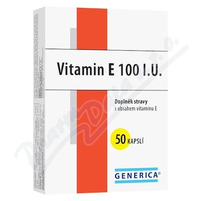Zobrazit detail - Vitamin E 100mg Generica cps. 50