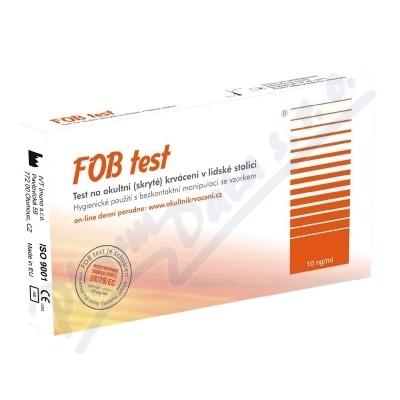 Zobrazit detail - FOB test na okultní krvácení v lidské stolici