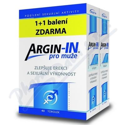 Zobrazit detail - Argin-IN pro mu�e tob. 45 + Argin-IN tob. 45 zdarma