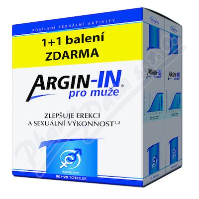 Zobrazit detail - Argin-IN pro mu�e tob. 90 + Argin-IN tob. 90 zdarma