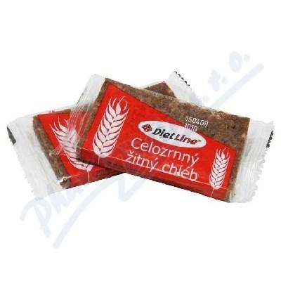 Zobrazit detail - DietLine Celozrnný žitný chléb 2ks-40g