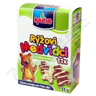 Zobrazit detail - RACIO rýžoví medvídci 35g