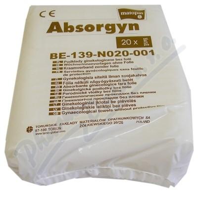 Zobrazit detail - Absorgyn 20 ks.  porodnické vložky