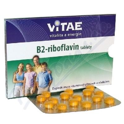 Zobrazit detail - Vitae vitamin B2 - Riboflavin tablety tbl. 30