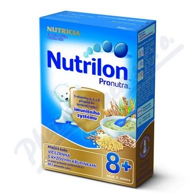 Zobrazit detail - Nutrilon kaše Pronutra vícezr.  s rýž. křup.  225g 8M