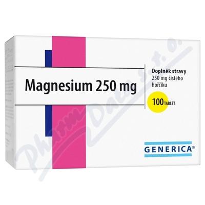 Zobrazit detail - Magnesium 250 Generica tbl.  100