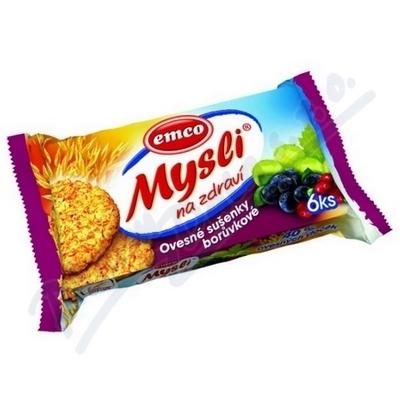 Zobrazit detail - EMCO Mysli sušenky borůvkové 60g