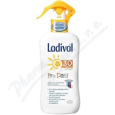 Zobrazit detail - LADIVAL OF30 sprej ochrana proti slunci děti 200ml