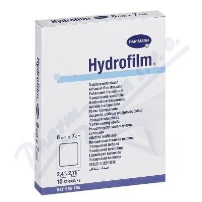 Zobrazit detail - Náplast fixační HYDROFILM 6x7cm 10ks