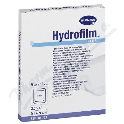 Náplast fixační HYDROFILM PLUS 9x10cm/5ks