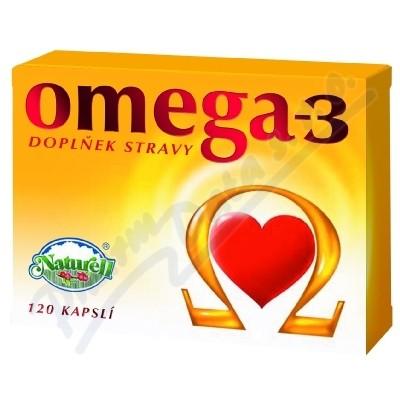 Zobrazit detail - Omega-3 cps. 120 Naturell