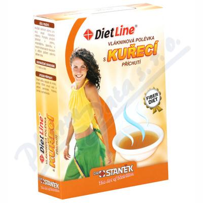 Zobrazit detail - DietLine Vlákninová polévka s kuřecí příchutí 3ks