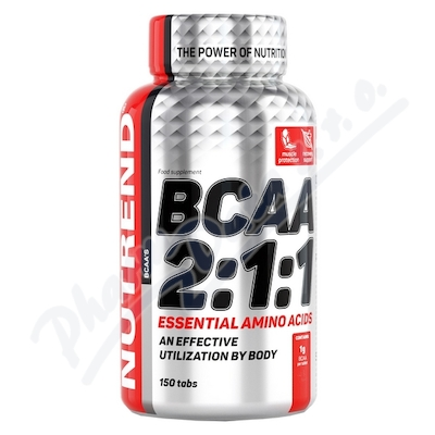 Zobrazit detail - NUTREND BCAA 2:1:1 tabs. 150