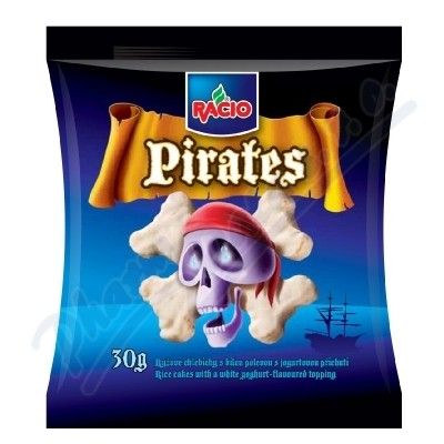 Zobrazit detail - RACIO Pirates Rýž. chleb. s bílou pol.  jog. přích. 30g