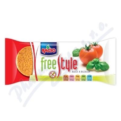 RACIO Free style rýž.chlebíčky rajče a bazalka 25g
