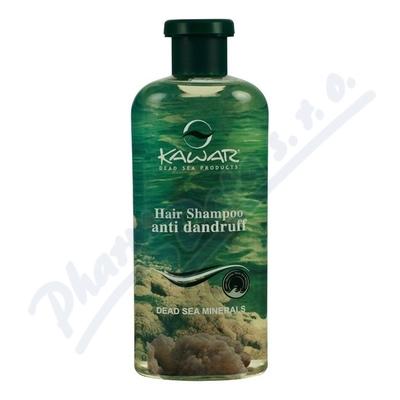 Zobrazit detail - KAWAR Šampon proti lupům s miner. z Mrtv. moře 400ml