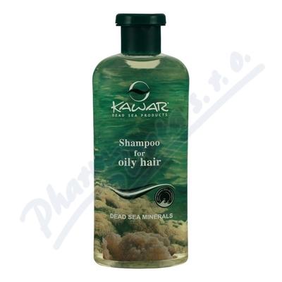 KAWAR Šampon na mastné vl.s miner.z Mrtv.moře400ml