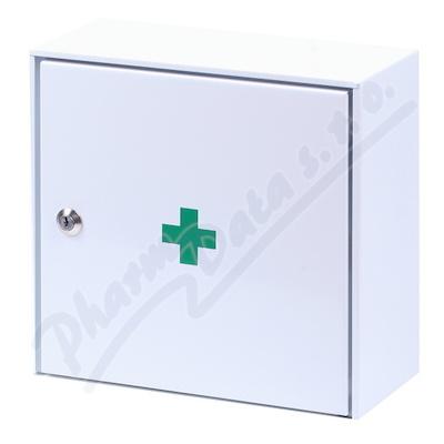 Zobrazit detail - Lékárnička - nástěn. s náplní do10osob-ZM10 kovová