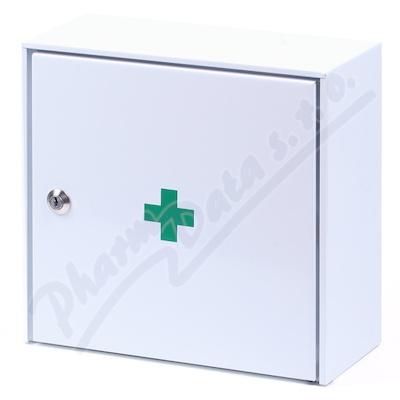 Lékárnička - nástěnná kovová 30x30x15 -prázdná