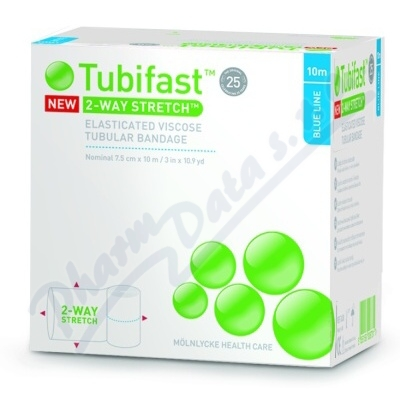 Tubifast Blue 10 2-way 7.5cmx10m