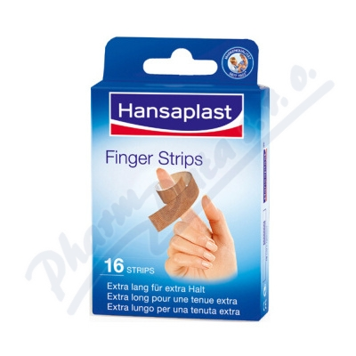 Zobrazit detail - Hansaplast náplast na prsty 16ks č. 76861
