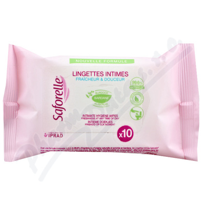 SAFORELLE ubrousky pro intimn� hygienu 10ks