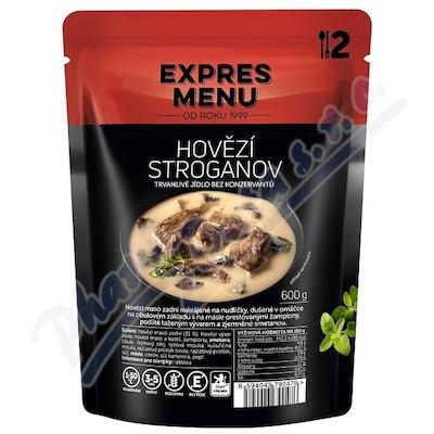 Zobrazit detail - EXPRES MENU Hovězí Stroganoff 2 porce