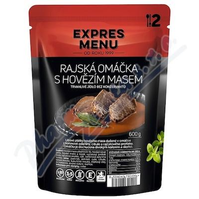 Zobrazit detail - EXPRES MENU Rajská om.  s hovězím masem 2 porce