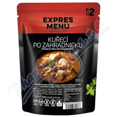 Zobrazit detail - EXPRES MENU Kuřecí po zahradnicku 2 porce