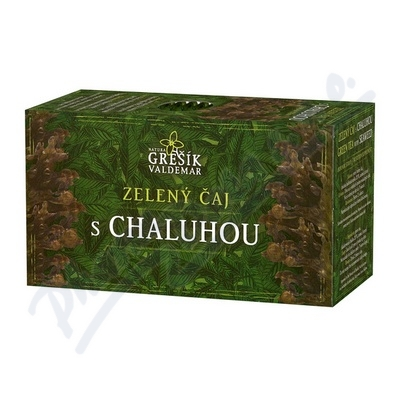 Zobrazit detail - Grešík Zel.  čaj s chaluhou n. s.  20x1. 5 g přebal