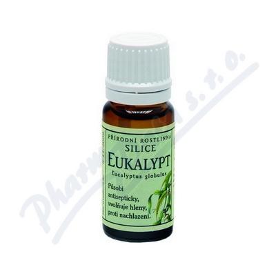 Zobrazit detail - Gre��k Silice Eukalypt p��rodn� rostlinn� 10ml