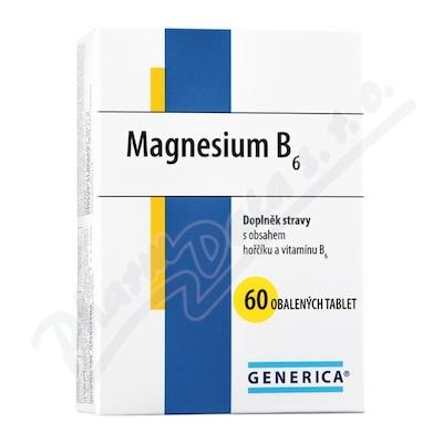 Zobrazit detail - Magnesium B6 Generica tbl. 60