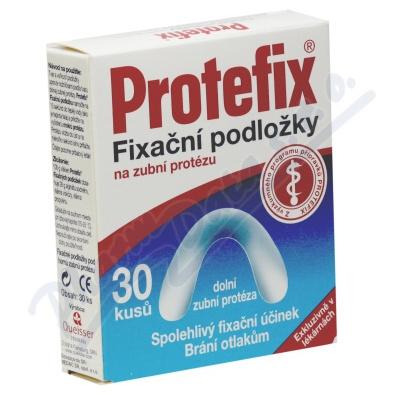 Zobrazit detail - Protefix Fixa�n� podlo�ky - doln� zub. prot. 30ks
