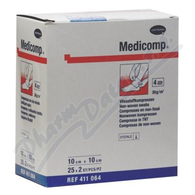Zobrazit detail - Kompres Medicomp ster. 10x10cm 25x2ks