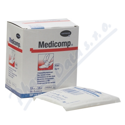 Zobrazit detail - Kompres Medicomp ster. 7. 5x7. 5cm 25x2ks