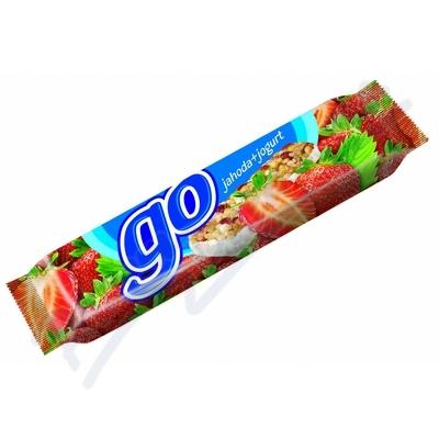 Zobrazit detail - M�sli ty�inka FIT GO jahodov� v jogurtu 23g