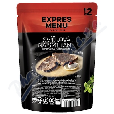 Zobrazit detail - EXPRES MENU Svíčková na smetaně 2 porce