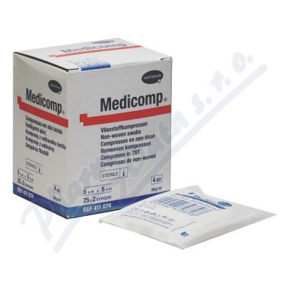 Zobrazit detail - Kompres Medicomp ster. 5x5 cm 25x2ks