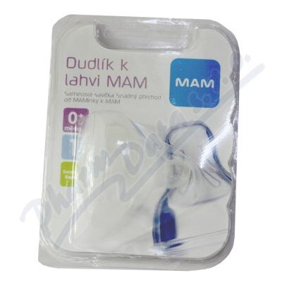 Zobrazit detail - MAM Savička na lahev V1 pomalý průtok 0+m.  1ks