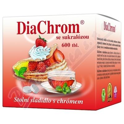 Zobrazit detail - DiaChrom se sukralózou tbl. 600 nízkokalor. sladidlo