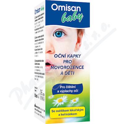 Zobrazit detail - OMISAN Baby Oční kapky pro děti 50ml